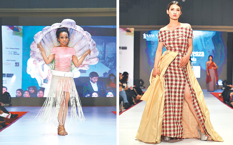 Student Designers Flaunt Edgy Creations
