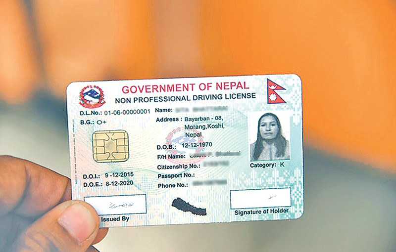 Driving licence vendor hits speed bump