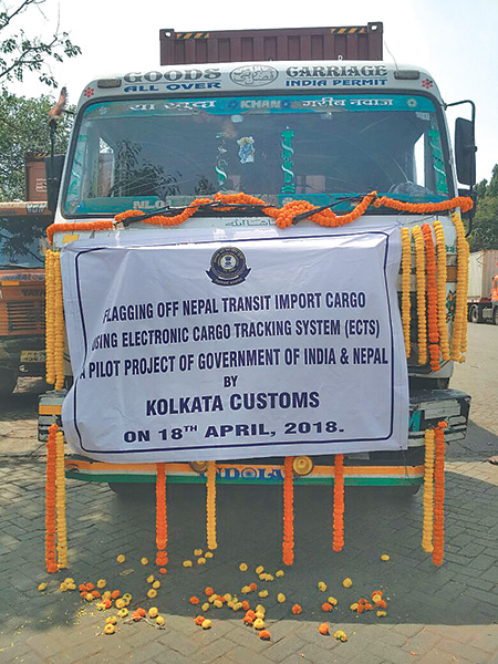 Container tracking system launched as pilot project