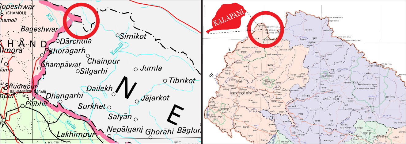 India\'s new political map places disputed territory of ...