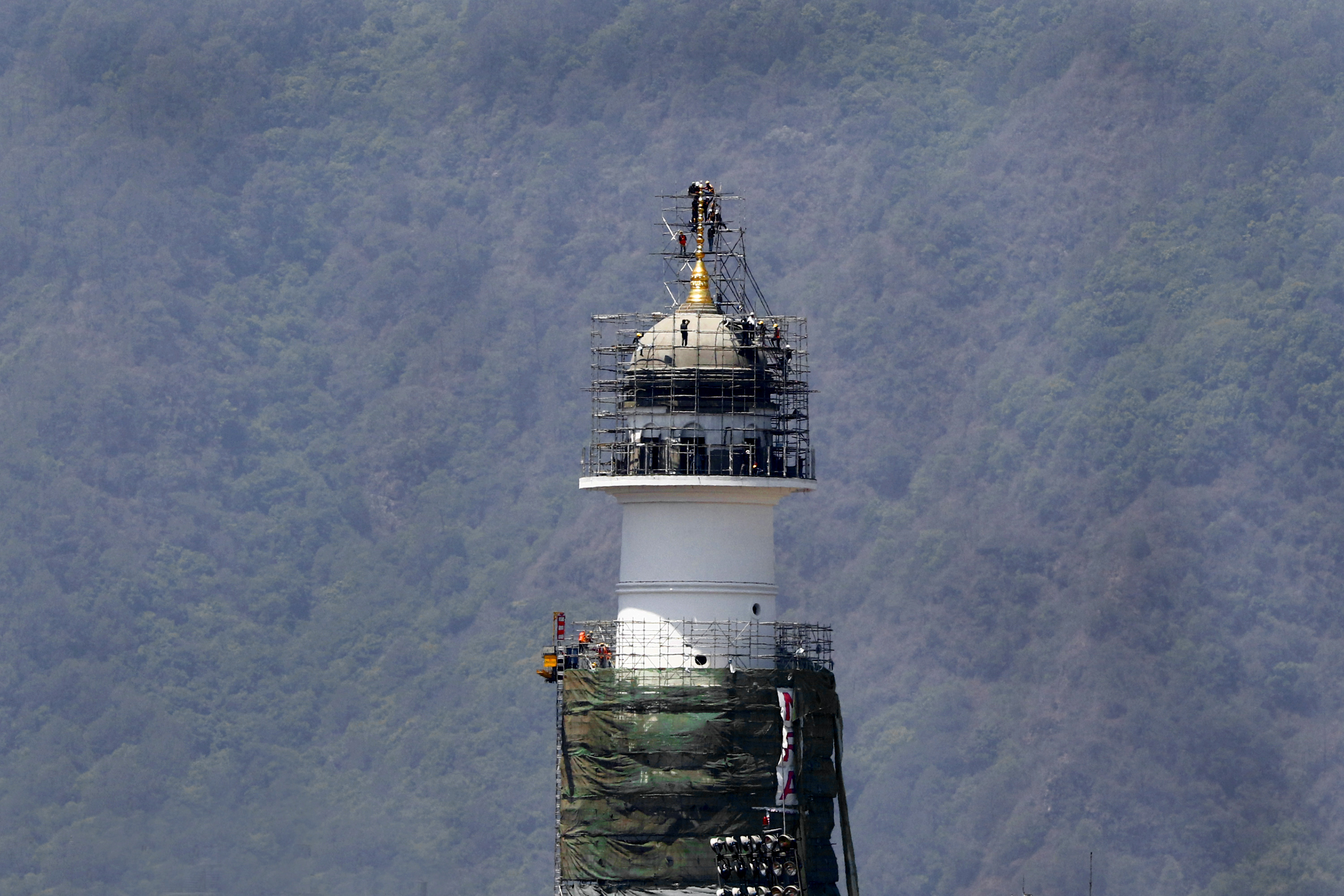 Dharahara construction in final stages